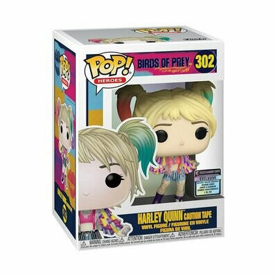 Harley Caution Tape Pop! & Card EE Excl.
