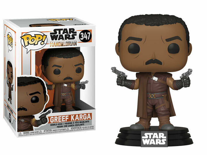 The Mandalorian Greef Karga Pop