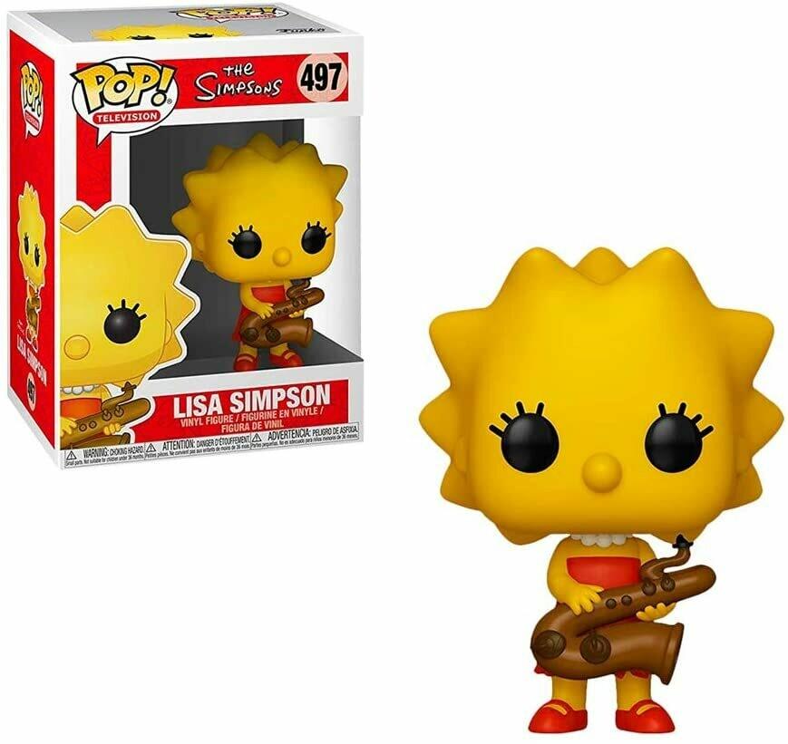 Lisa Simpson Saxophone Pop