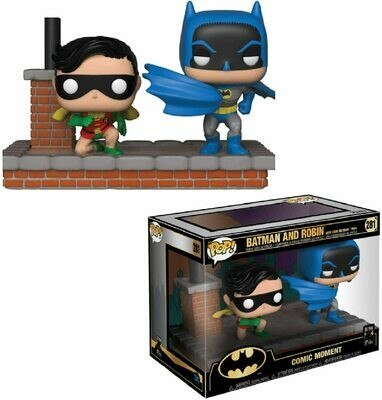 Batman Movie Moment Batman & Robin
