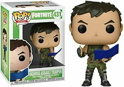 Fortnite Highrise Assault Trooper Pop