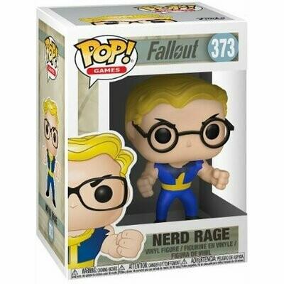 Fallout Vault Boy Nerd Rage Pop