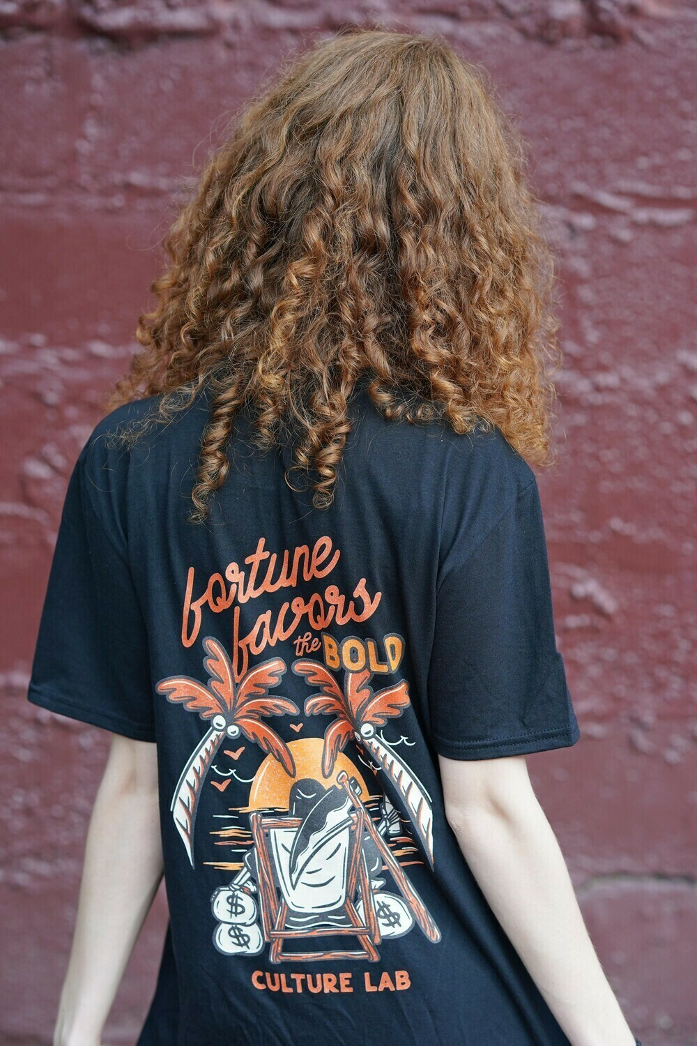 Fortune Favors The Bold Tee V2