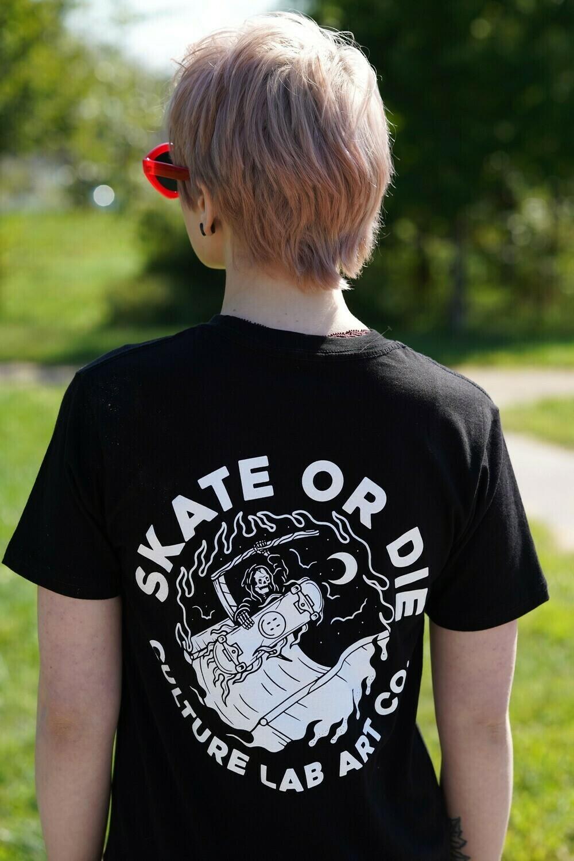 Skate or Die Tee