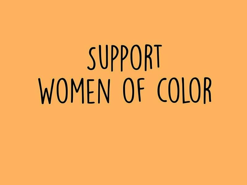 Support Women of Color Tee