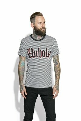 Unholy Striped Tee ES