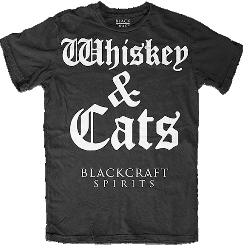 Whiskey & Cats Tee ES