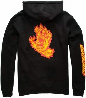 Flame Hand Hooded Heavyweight Sweatshirt