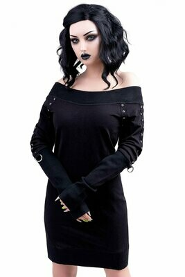 Wicked Riffs Sweater Dress