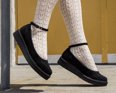 Ballet Ankle Strap Creeper