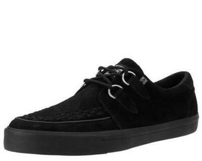 Black Suade D-Ring VLK Sneaker