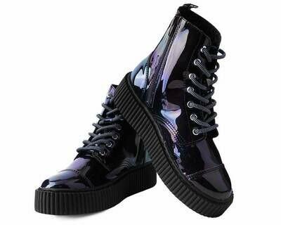 Black Hologram Cashbah Boot