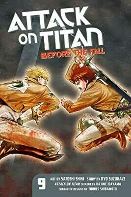 Attack On Titan Volume 9