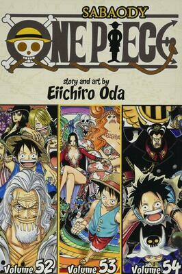 One Piece Volume 52-54