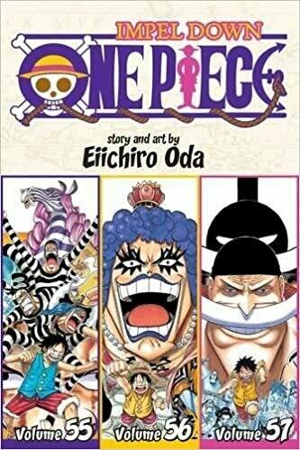 One Piece Volume 55-57