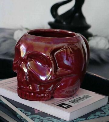Skull Mug Blood Aura