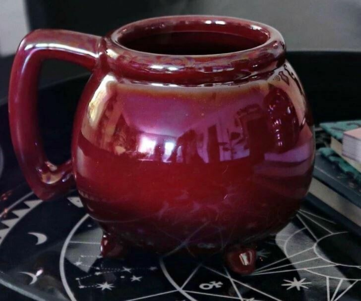 Wicca Mug Blood Aura
