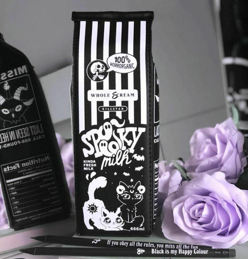 Spooky Milk Pencil Case