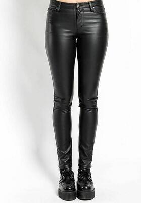 Faux Leather Tripp Jean
