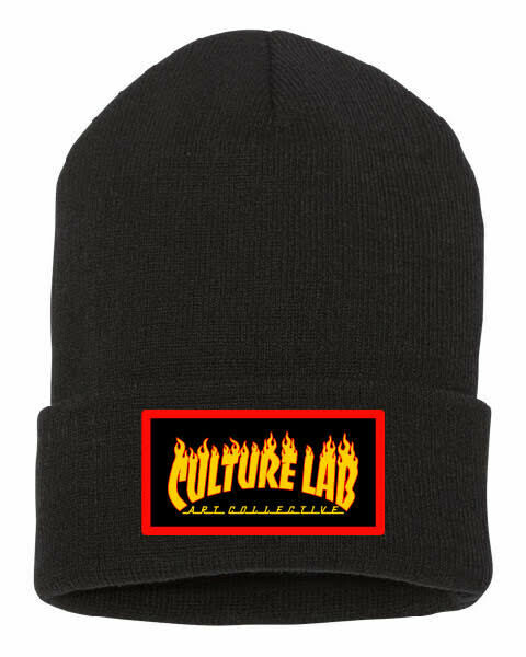 Culture Lab Flames Beanie