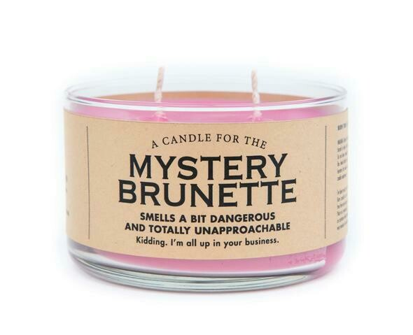 Mystery Brunette Candle