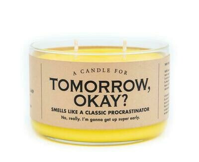 Tomorrow Ok Candle