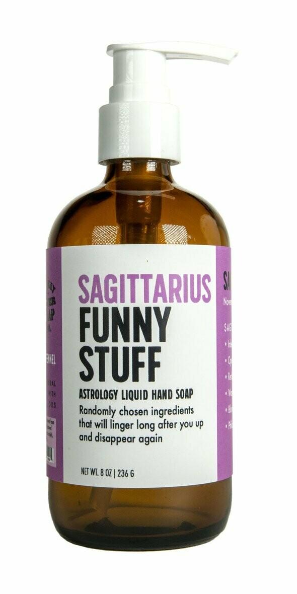 Sagittarius Liquid Soap