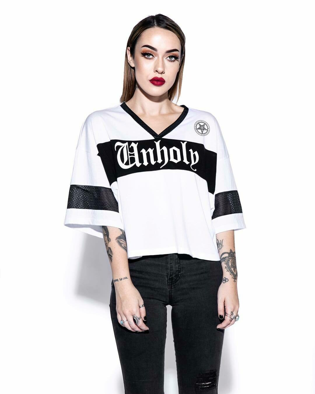 Unholy Cropped Jersey ES