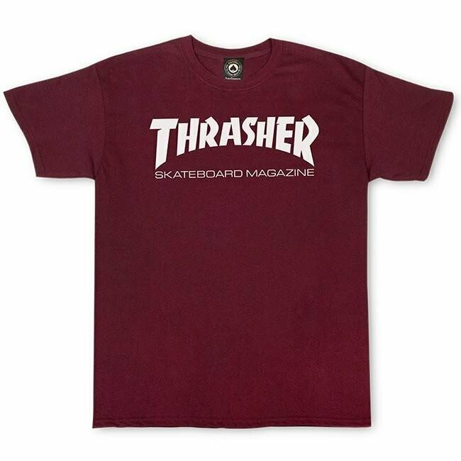 Thrasher Skate Maroon T-Shirt