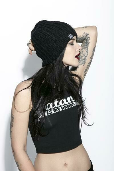 Create Your Own Future Loose Knit Beanie