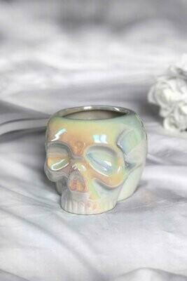 Skull Mug White Aura