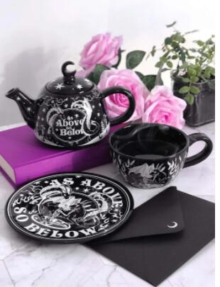 As Above Tea Pot & Cup