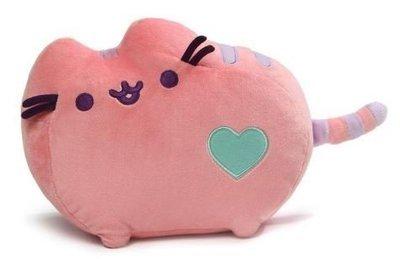 Pastel Pusheen Plush Toy In Pink