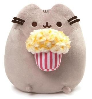 Popcorn Pusheen Plush Toy
