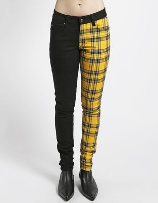 Split Personality Jean Yellow