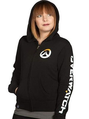 Overwatch Logo Women's Zip-Up Hoodie