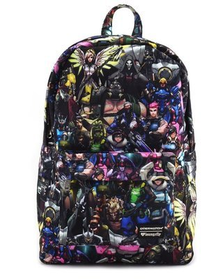 Loungefly X Overwatch Character Print Backpack