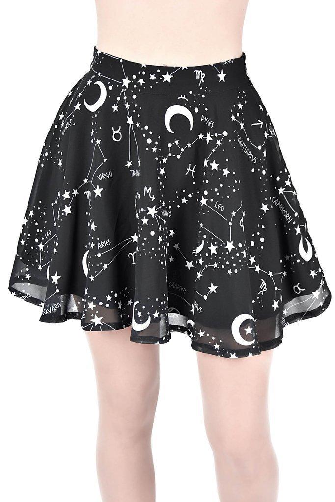 Milky Way Chiffon Skirt