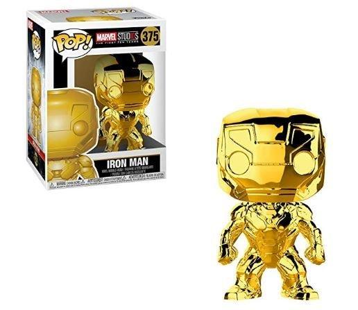 Iron Man Chrome Pop