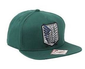 Attack On Titan Forest Green Snapback