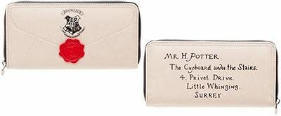 Harry Potter Letter Zip Wallet