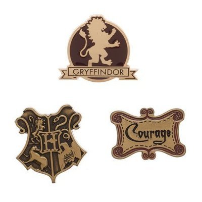 Gryffindor Pin Set
