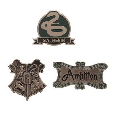 Slytherin Lapel Pin Set