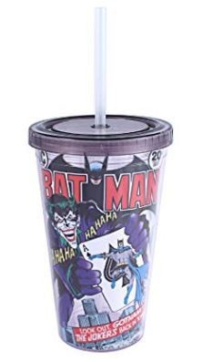 Batman #251 Cup With Straw