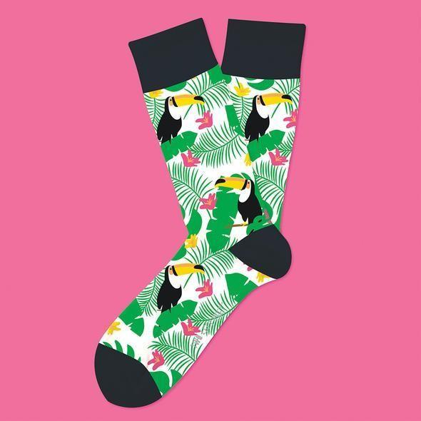 Tropical Tucan Socks