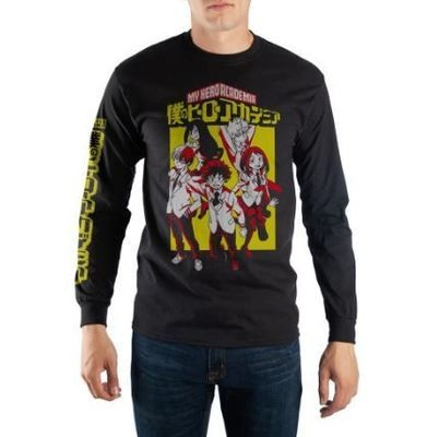 My Hero Academia Long Sleeve Tee