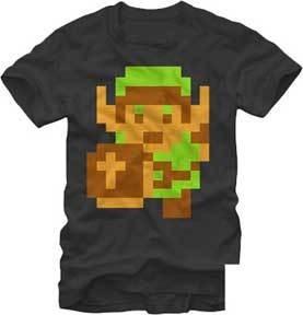 8 Bit Zelda Tee