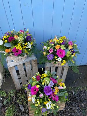 Spring Basket Arrangement