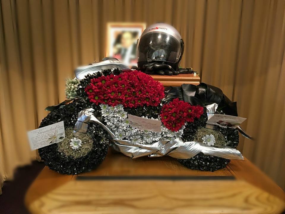 Floral Motorbike