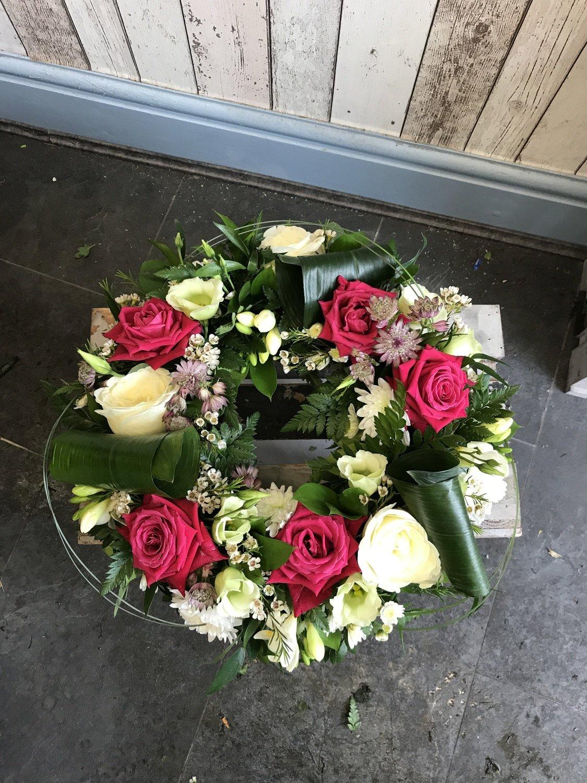 Modern Open Wreath
